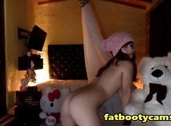Nutty Dame Ravages Teddy Bear - fatbootycams.com