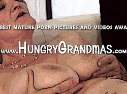Granny cum-hole sexy make-out