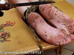BAREFOOT ANGELICA Afflict day 4 (red hot iron)