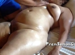 Desi fit together Suman getting nude rub-down shush filming [Part 3]