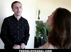 TeensLoveAnal - Virgin Fiancee Drilled Round Ass By Bro-in-Law
